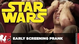 Star Wars Early Screening Prank (No Spoilers) | Rooster Teeth