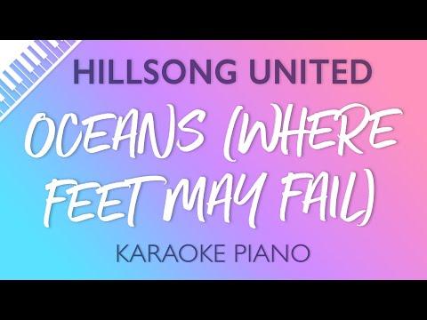 Hillsong UNITED - Oceans (Where Feet May Fail) (Karaoke Piano)