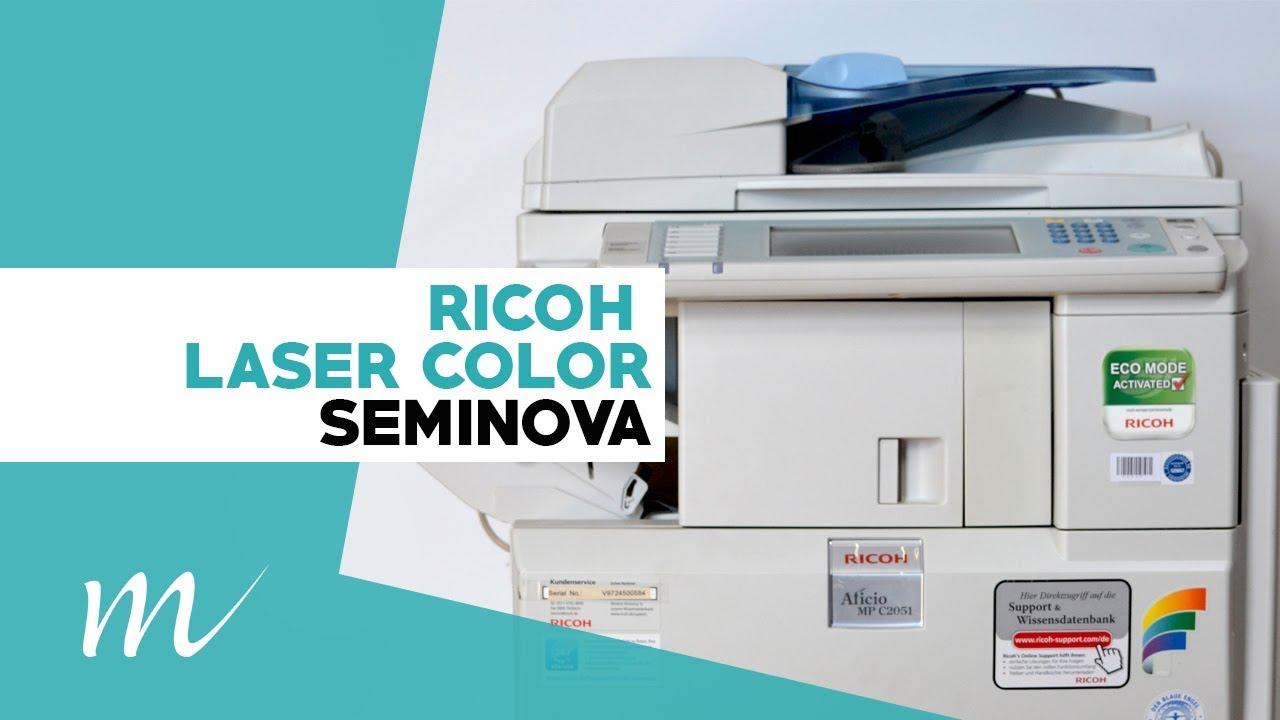 Multifuncional A3 Color Laser Ricoh Mp C2051 Seminova