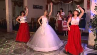 Танец мамы,сестра и невесты  на свадьбе
