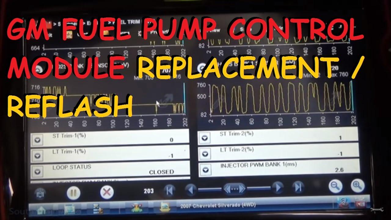 Chevrolet Sonic Repair Manual: Fuel Pump Control Module Programming and Setup