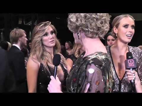 2015 TV Week Logie Awards Red Carpet with Aussie Music Diva Delta Goodrem