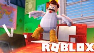 Bermain Roblox - the floor is larva #1