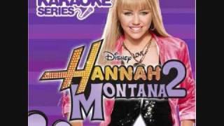 Hannah Montana- Rockstar (Karaoke/Instrumental) OFFICIAL
