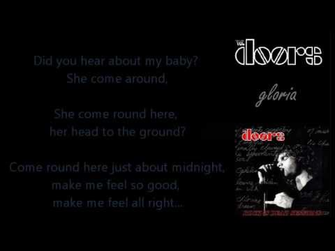 & The Doors - Gloria [with lyrics on screen] - YouTube Pezcame.Com