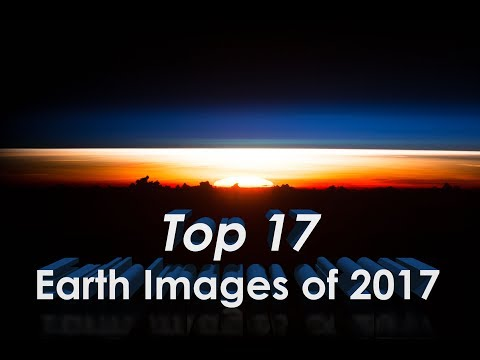 Top 17 Earth From Space Images of 2017 in 4K thumbnail