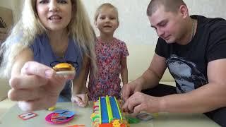 Челлендж БУРГЕР МАНИЯ Challenge Burger Mania Классная игра для всей семьи Развлечение для детей