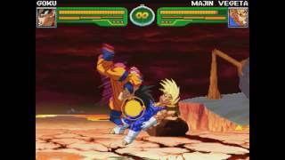 Hyper Dragon Ball Z 游戏影片