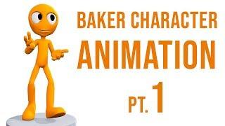 La CCG Classique: Baker Animation de Personnage, Pt. 1 - Intro à la plate-forme (Blender 2.6 Tutoriel)