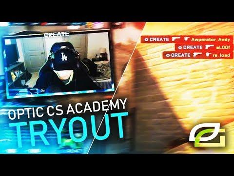CREATE to OpTic CS ACADEMY?! (Stream Highlights)