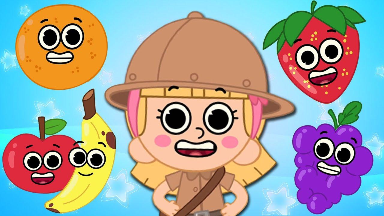 El jardín de las frutas - Canciones infantiles | Campo Infantil
