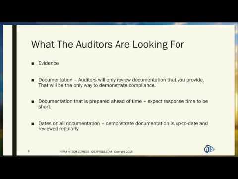 Preparing For HIPAA Audits