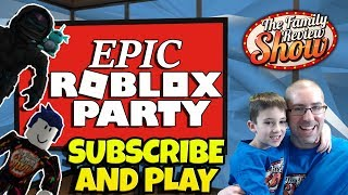 🔴 Epic Roblox Party 🦈🦏 Subscribe & Play!