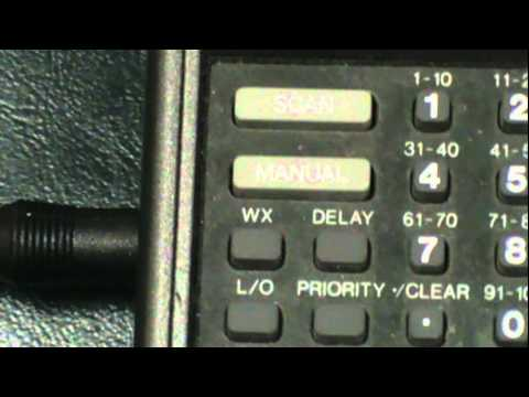 realistic pro 35 uhf vhf direct entry 100 channel scanner with rh youtube com