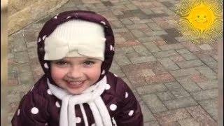 Новое видео апреля-Веселая весенняя прогулка Лизы Галкиной с папой.Соколы прилетели