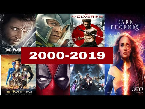 X-Men All Movies List (2000-2019) | Mahtab Alam Creation