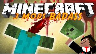 3 MODS BADASS EN 1 VIDEO !! - GRINDER , DISMEMBER & STREAK MOD MINECRAFT [FR] [HD]