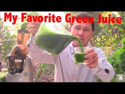 How to Make Green Juice in the Kuvings Whole Slow Juicer