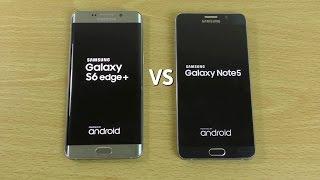 Samsung Galaxy S6 Edge Plus VS Note 5 - Speed Comparison!