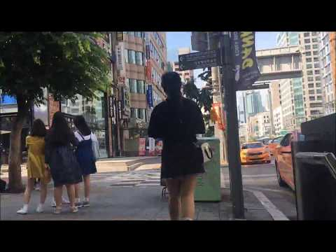 Korea college student's REAL LIFE in Hongik university with Tourmate Dawon Kim