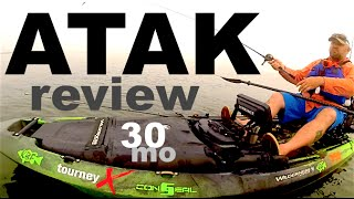 Kayak Review - Wilderness Systems ATAK 140 - Chad Hoover