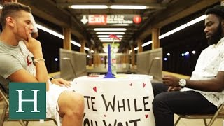 Date While You Wait in the NYC Subway