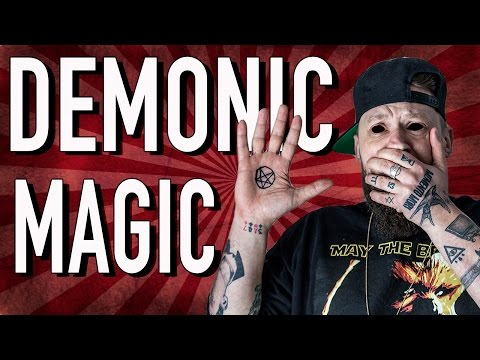 REACTING TO DEMONIC MAGIC!!
