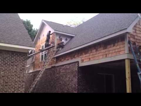 Cedar Shake Siding Install Youtube