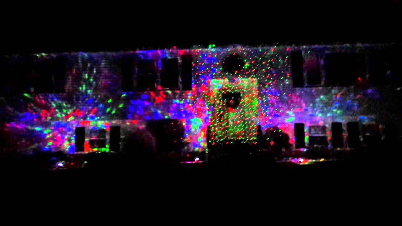 Star Shower And Gemmy Light Show