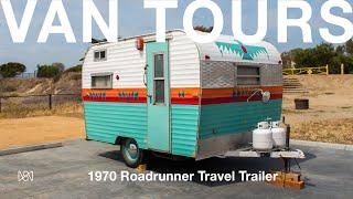 Van Tours: Eileen Ricigliano and Her 1970 Roadrunner Travel Trailer