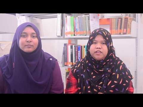 Nur Amelina & Allysya Ardira RK20 Internship Experience at Pahang Meteorological Office