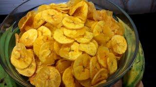 ಮನೆಯಲ್ಲಿ 10 ನಿಮಿಷದಲ್ಲಿ ಬಾಳೆಕಾಯಿ ಚಿಪ್ಸ್ /How To Do Banana Chips