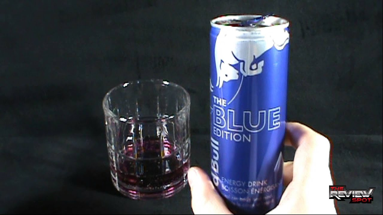 Random Spot - Red Bull The Blue Edition Energy Drink - YouTube