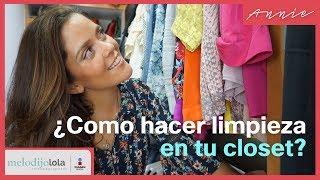 Tips para limpiar tu closet fácil y rápido | Me lo dijo Lola