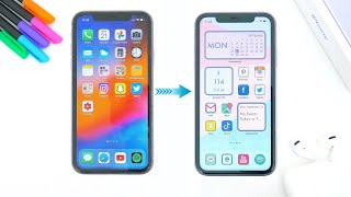 How To: Custom App Icons & Widgets On iPhone Home Screen! (iOS 14)