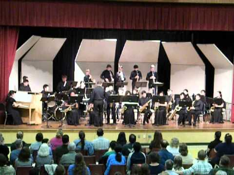 Shahala Middle School Jazz Band - Grooved Pavement