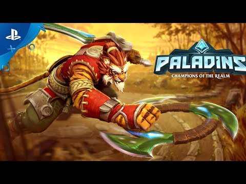 Paladins - Tiberius, The Weapon's Master - Cinematic Trailer | PS4