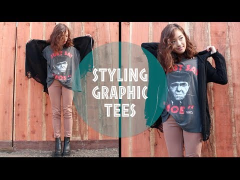How I Style | Graphic Tees
