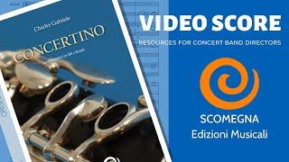 CONCERTINO per Clarinetto - Charles Gabriele