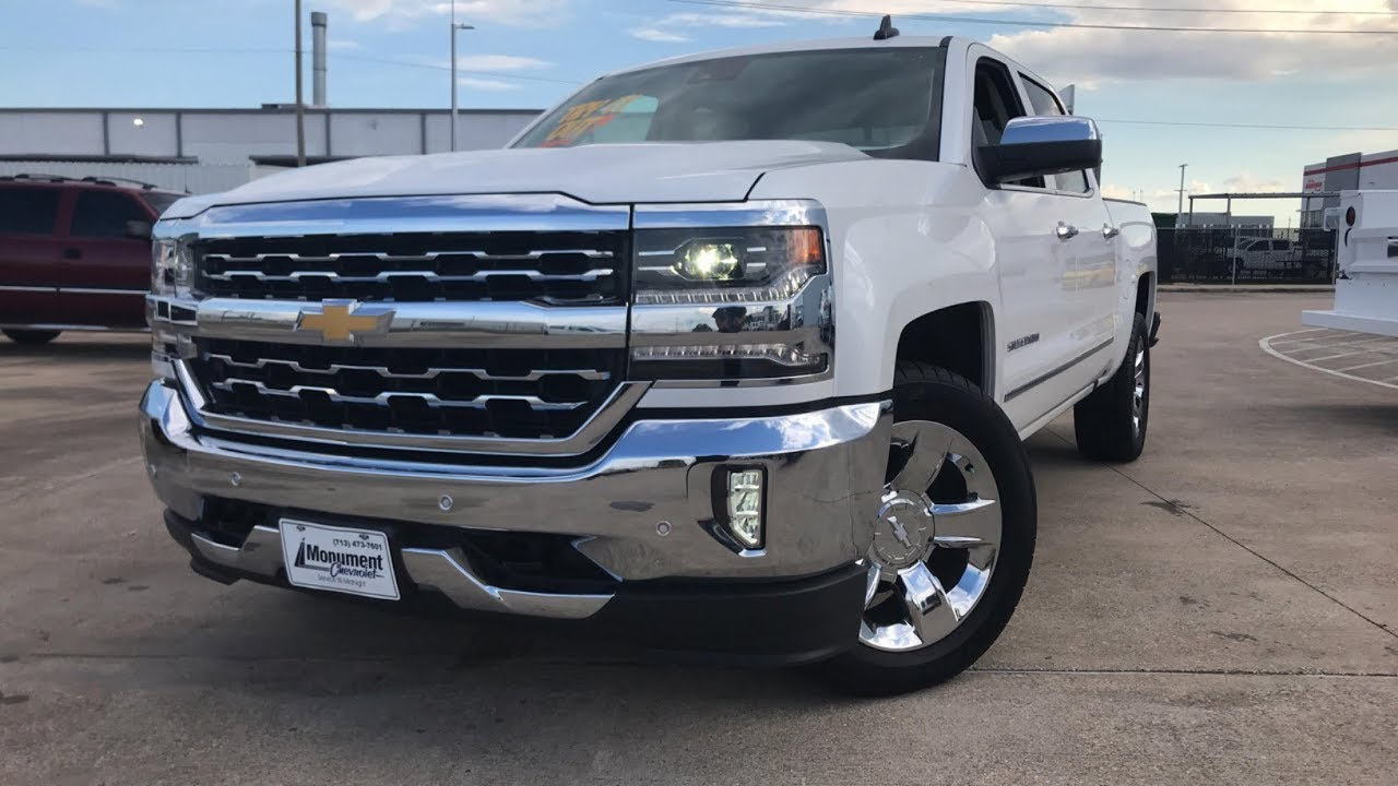 2018 Chevrolet Silverado LTZ (6.2L V8) - Review - YouTube