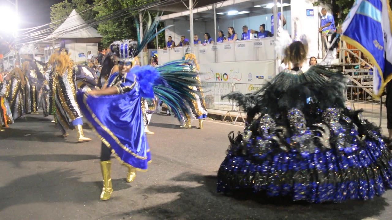 GRES Tradição Desfile 2017   primeiro casal