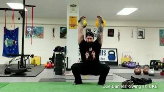 Using Kettlebell Complexes for Movement Control Endurance : Double Kettlebell Clean to Sots Press