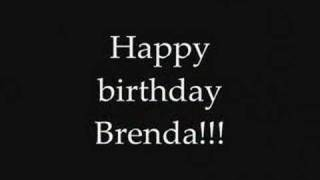Happy birthday Brenda!!