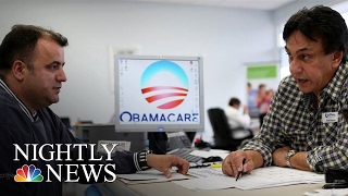 Obamacare Battle: GOP Moves For Repeal With No Immediate Replacement | NBC Nightly News