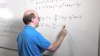 Complex Analysis 03: The Cauchy-Riemann Equations
