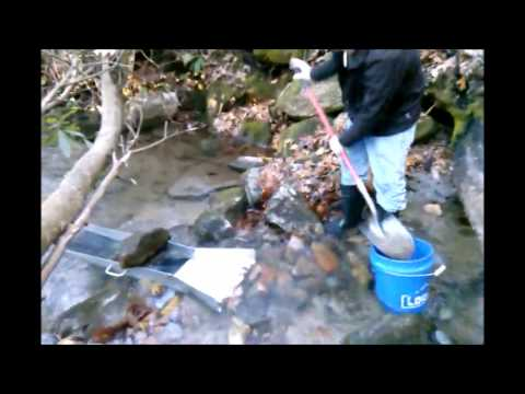 Lost River Gold Prospecting  Georgia border in  NC  ruby & sapphire country!