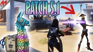 [FORTNITE-SAUVER THE WORLD] PATCH 5.1, BIOME DESERT, BIRTHDAY AND NEW CARCASS