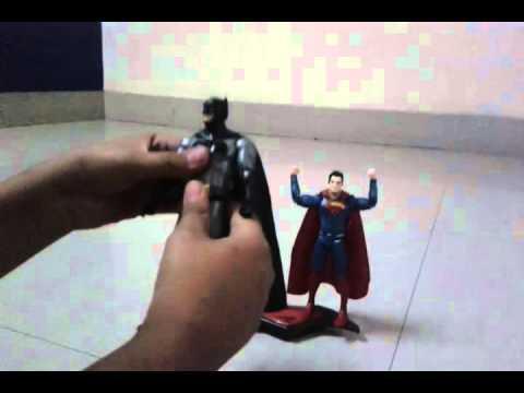 Batman Vs Superman Action Figures From Amazon India Youtube