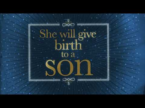 "Christmas Bible verse video: Matthew 1:21 NIV, ""She will give birth to a son…"""