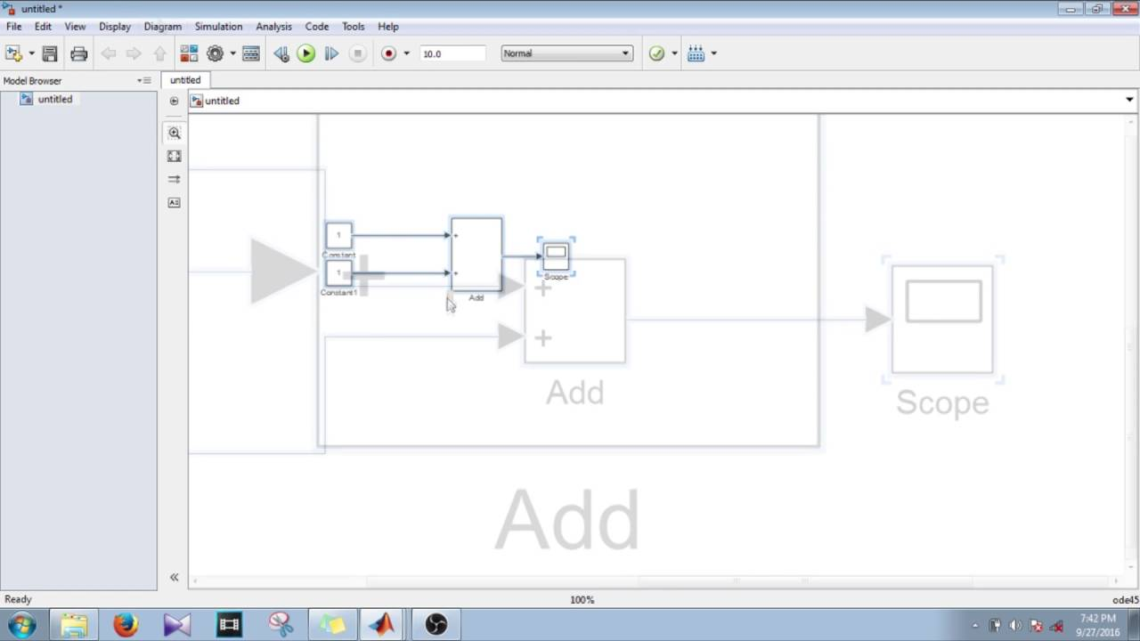 Simulink Tutorial - 9 - Display Data type And Value Of Signal During  Simulation